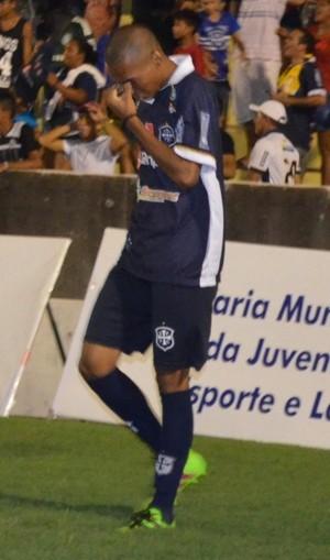 Samuel foi integrado ao elenco profissional do São Francisco durante a disputa do Campeonato Paraense de 2016 (Foto: Dominique Cavaleiro/GloboEsporte.com)