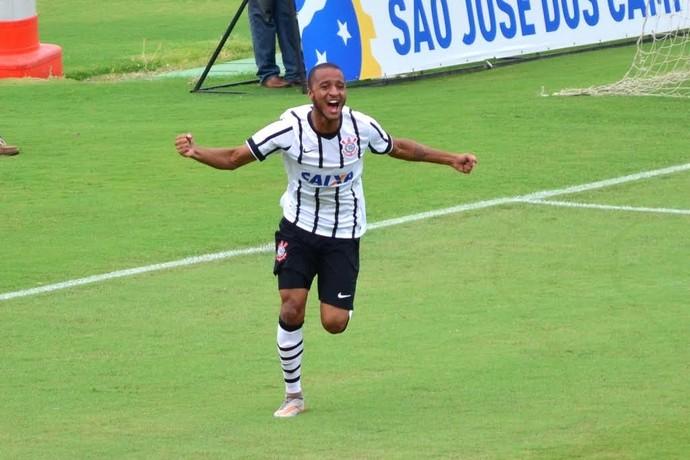 Rafael Castro gol Corinthians São Paulo TR Sub-20 Martins Pereira (Foto: Danilo Sardinha/GloboEsporte.com)