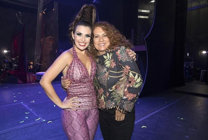 A atriz também interpreta na peça Mary Matoso, personagem que foi de Patrycia Travassos na TV  (Foto: Reprodução)