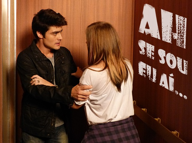 Ah se eu fosse a Lia... (Foto: Malhação / TV Globo)