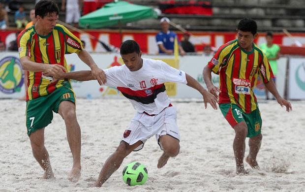 Sampaio e Flamengo vão se encarar nas areias do Maranhão (Foto: FMBS/Divulgação)