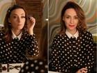 Avessa a plásticas e botox, Suzana Pires ensina como 'afinar' rosto com make