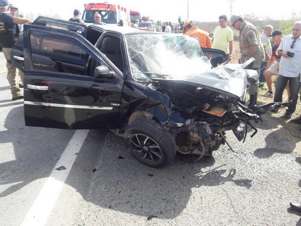 As causas do acidente ainda vão ser investigadas pela polícia. (Foto: Sobral 24 horas)