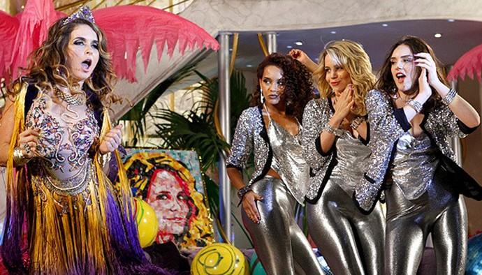 Chayene e Empreguetes (Foto: TV Globo)