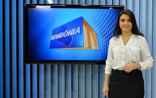 Ana Lidia Daibes retorna das férias e reassume o Rondônia TV (Foto: Angelina Ayres Medeiros/Rede Amazônica)