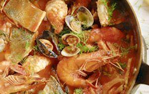 Ensopado de peixe do Jamie Oliver