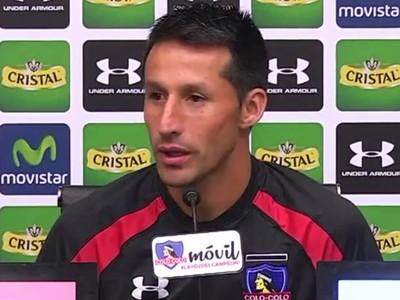 Christián Vilches Atlético-PR Colo Colo (Foto: Site oficial do Colo Colo/Reprodução)