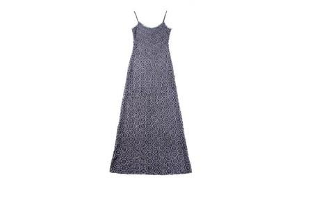 Vestido renda guipure longo da Ágatha  (R$ 459) / Produção de moda: Zizi Ribeiro Assistente: Roberta Reis Divulgação