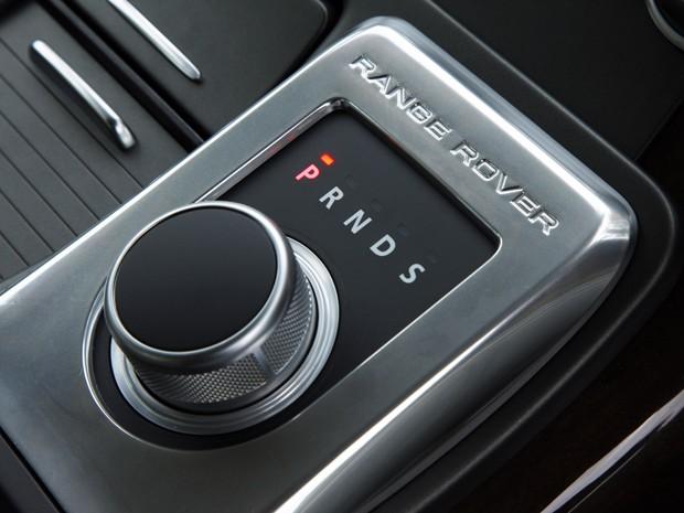 Sistema de seleção do Range Rover (Foto: Divulgação)