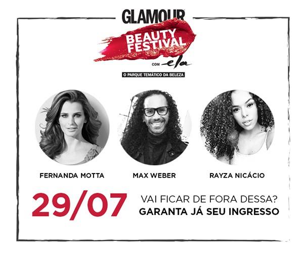 glamour beauty festival (Foto: Divulgação)