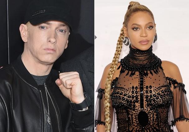 """Eminem e Beyoncé fazem parceria na música """"Walk on Water"""" (Foto: Getty Images)"""