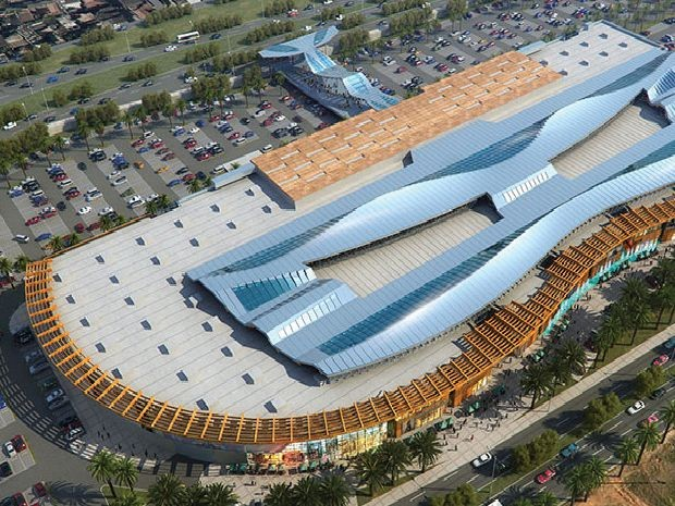 Novo Shopping Bosque será construido no lugar do antigo Aeroclube (Foto: Agecom / Divulgação)