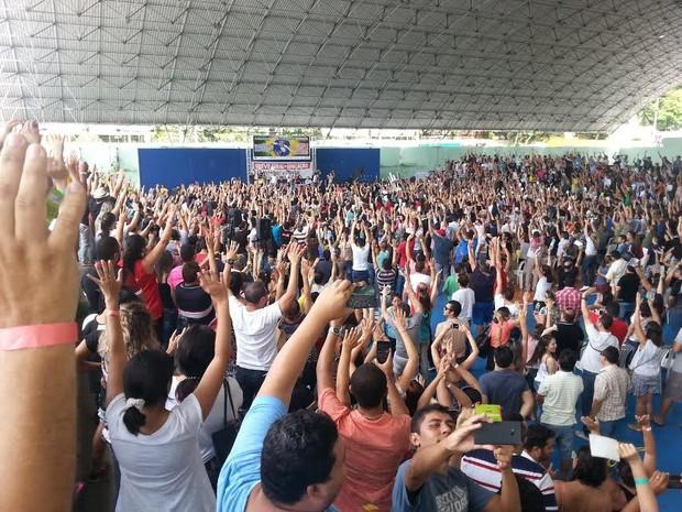 Professores do Ceará decidem manter a greve da categoria (Foto: Apeoc/Divulgação)