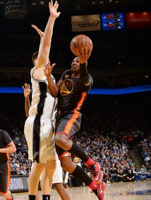 Leandrinho Warriors x Spurs NBA (Foto: Getty)