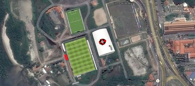 Projeto do Moto para colocar extensão do CT no Centro de São Luís (Foto: Divulgação / Moto Club)