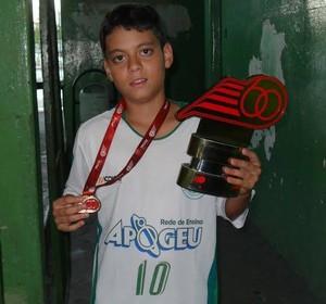Leonardo Sport JF futsal (Foto: Arquivo Pessoal)