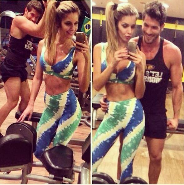 Tatiele Polyana e Roni Mazon (Foto: Reprodução/Instagram)