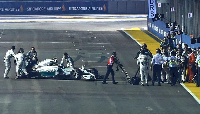 Nico Rosberg GP de Cingapura (Foto: Getty Images)