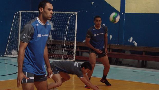 Vôlei de São José dos Campos (Foto: Filipe Rodrigues / Globoesporte.com)