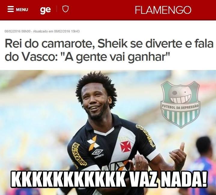 Zoação Vasco x Flamengo