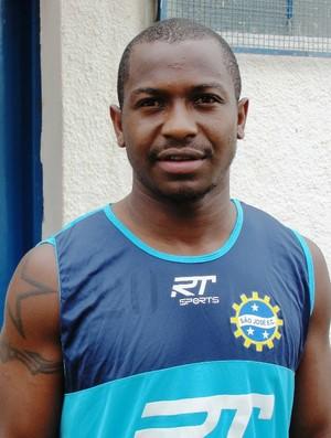 O volante Alexandre, do São José Esporte Clube (Foto: Arthur Costa/Globoesporte.com)