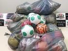 Polícia apreende mais de 50 bolas relacionadas a candidata a vereadora