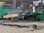 """""""Como em uma gigante máquina de lavar"""", diz Alonso sobre acidente"""