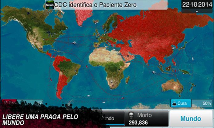 Plague Inc. é um game para Windows Phone no qual o jogador deve infectar a humanidade (Foto: Divulgação/Windows Phone Store)