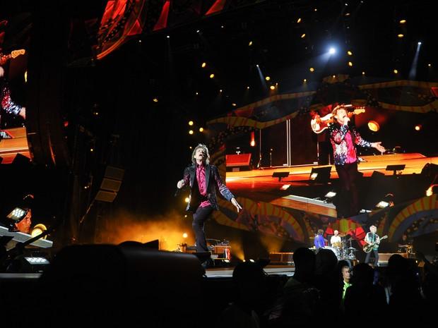 Grupo Rolling Stones se apresenta em Havana, em Cuba (Foto: Yamil Lage/ AFP)