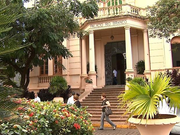 Prefeitura de Ribeirão Preto, SP (Foto: Valdinei Malaguti/EPTV)