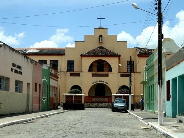 Colégio Santa Rita, em Areia, na Paraíba, marca início dos estudos e do trabalho como professora de Dorinha (Foto: Egberto Araújo/Arquivo Pessoal)