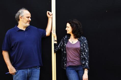 Luiz Villaça e Denise Fraga (Foto: Fernando Donasci)