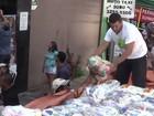 Grupo realiza rally e entrega donativos à comunidades carentes (Reprodução/TV Anhanguera)