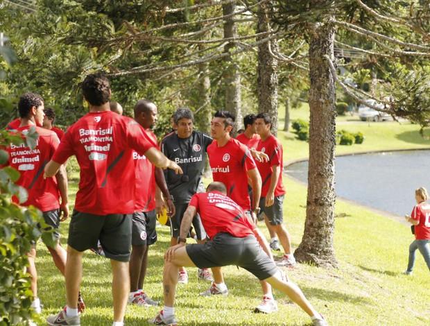 inter treino serra pré-temporada canela (Foto: Diego Guichard/Globoesporte.com)
