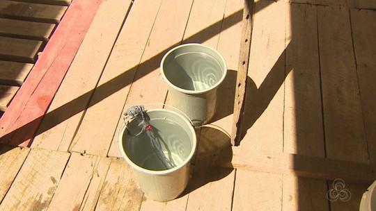Obstrução em canos impede fornecimento de água no Ambrósio