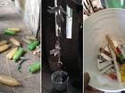 Agentes acham cachaça artesanal, telefones e drogas em presídio do RN