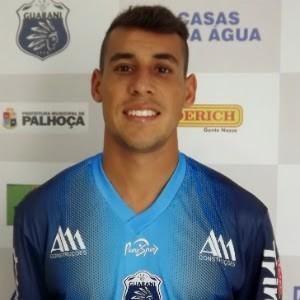 Paulo Vitor, novo lateral do Coruripe (Foto: Divulgação/Guarani-SC)
