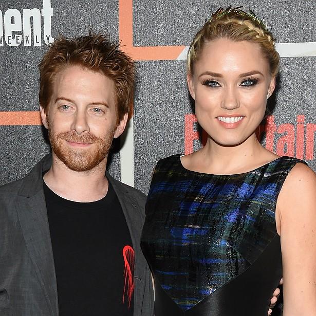 O ator Seth Green se casou em 2010 com a bela atriz Clare Grant. (Foto: Getty Images)