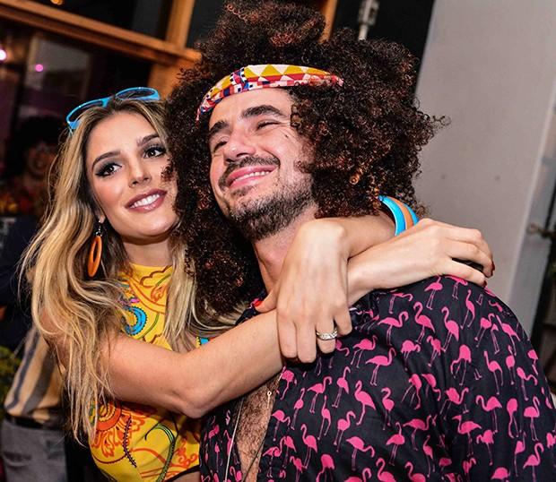 Rafa Brites e Felipe Andreolli (Foto: Leo Franco / AgNews)
