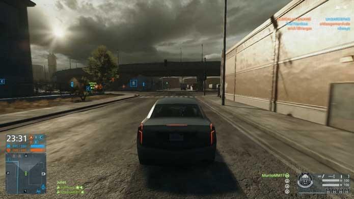 Battlefield: Hardline: veículos modernos chamam menos atenção do que em BF1 (Foto: Reprodução/Murilo Molina)