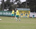 Em jogo-treino, Cuca testa opções para zaga do Palmeiras no Dérbi