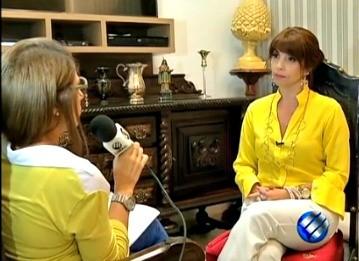 Entrevista Jalilia  (Foto: Reprodução/TV Liberal)