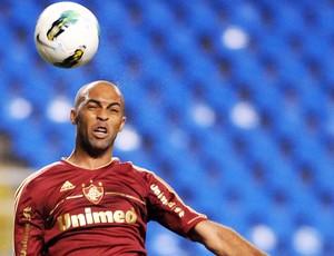 Leandro Euzébio, treino do Fluminense (Foto: Dhavid Normando / Photocamera)