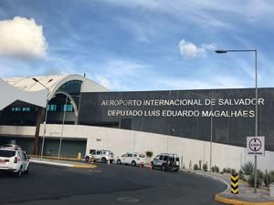 Aeroporto de Salvador (Foto: Alan Tiago Alves/G1)