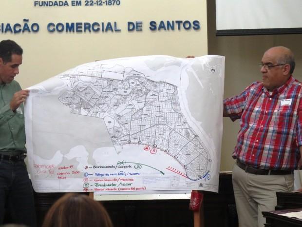 Grupos apresentaram possíveis soluções com supervisão de coordenadores (Foto: Orion Pires / G1)