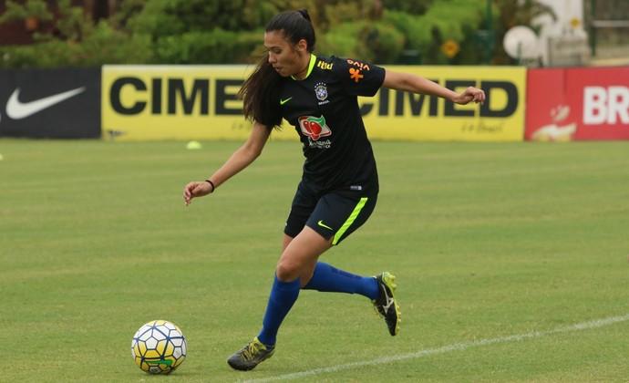 Antonio São José Futebol Feminino (Foto: Kin Saito/CBF)