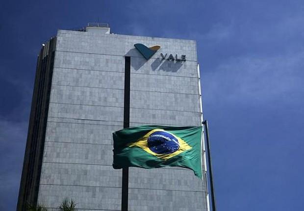Fachada da sede da mineradora Vale no Rio de Janeiro (Foto: Pilar Olivares/Reuters)