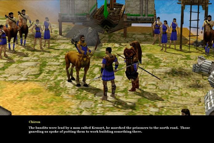 Com um destaque maior na figura de Arkantos e seus aliados, o game possui uma trama divertida e envolvente (Foto: Reprodução/Daniel Ribeiro)