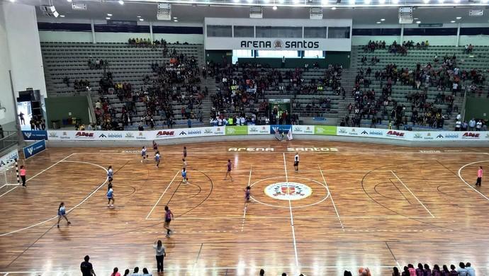 Copa TV Tribuna de Handebol Escolar 2015 (Foto: Cláudio Neto/TV Tribuna)