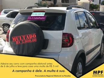 Campanha alerta que até eleitores podem ser multados por campanha antecipada (Foto: Divulgação/MPF)